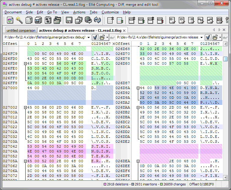 Binary compare tool free download
